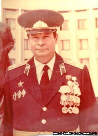 Начальник 68 ПогО Федотов Н.П.