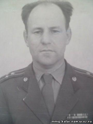 Полковник Тенькаев